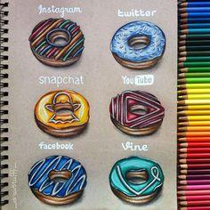 Twitter,Insta...       En donuts