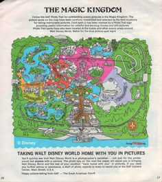Vintage big 1971 magic kingdom walt disney world map guide vintage big 1971 magic kingdom walt disney world map guide pinterest walt disney big and vintage freerunsca Gallery