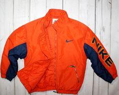 Mens VINTAGE NIKE ORANGE OLDSCHOOL JACKET SIZE MAN S | Clothing, Shoes & Accessories, Men's Clothing, Coats & Jackets | eBay!