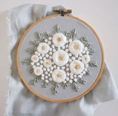 Embroidery Thread Tassel Earrings little Embroidery Stitches Tutorial Video; Embroidery Machine Barudan, Brush Embroidery Patterns Roses into Embroidery Stitches Step By Step Embroidery Flowers Pattern, Embroidery Transfers, Hand Embroidery Stitches, Embroidery Needles, Silk Ribbon Embroidery, Embroidery Hoop Art, Hand Embroidery Designs, Vintage Embroidery, Brush Embroidery