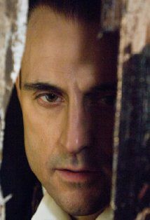 Mark Strong- a baddie but oh so tempting! Gorgeous with or without hair.