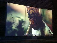 Wael Shawky, Cabaret Crusades, The Secrets of Karbala. Marionettes made of Murano glass.