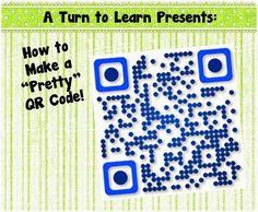 How to Make Pretty QR Codes
