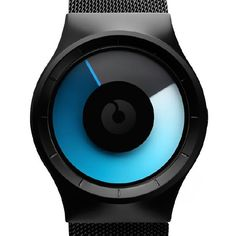 Celeste watch by Ziiiro. Available at Dezeen Watch Store: www.dezeenwatchstore.com #watches