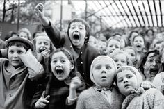 Guignol puppet show the moment the dragon is slain at the Puppet Theater in the Tuileries, Parc de Montsouris, Paris — Alfred Eisenstaedt (LIFE Magazine Quotes About Photography, Vintage Photography, Street Photography, Life Photography, France Photography, Photography Photos, Norman Rockwell, Life Magazine, Foto Picture