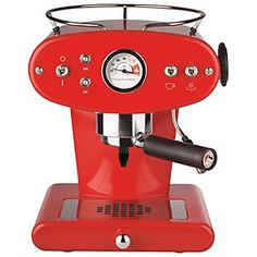 Illy Francis Francis Red Espresso Coffee Automatic NO Capsule Machine Machine A Cafe Expresso, Espresso Coffee Machine, Coffee Maker, Marsala, Cappuccino Maker, Espresso Maker, Cappuccino Coffee, Coffee Coffee, Morning Coffee
