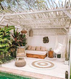 Deko-Terrasse: Mediterrane Inspiration - Die Cocooning Factory - My WordPress Website Outdoor Rooms, Outdoor Living, Outdoor Decor, Balkon Design, Decoration Inspiration, Decor Ideas, Stil Inspiration, Beach House Decor, Home Decor