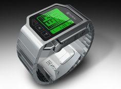 LCD Watch Design od firmy Tokyoflash Design Studio