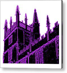 Oxford England 1986 Purple Spirals Art1 Jgibney The Museum Gifts Metal Print by The MUSEUM Artist Series jGibney, jGibney The MUSEUM, gib, gibney, jgibney,Gibney, jGibney,  ---SEE EVERYTHING HERE--->>> http://themuseum.host56.com/themuseum.htm, http://www.zazzle.com/the_museum/products, http://www.zazzle.com/mbr/238948309450180796, http://www.zazzle.com/The_MUSEUM*, jGibney/The MUSEUM Zazzle Gifts <<<---