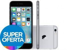 "iPhone 6S Plus Apple 32GB Cinza Espacial 4G - Tela 5.5"" Retina Câmera 5MP iOS Proc. A9 Wi-Fi"