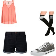 """my aj lee oufite"" by keb11 on Polyvore"