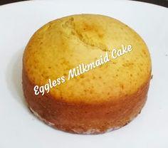 Eggless Pudding Recipe, Pudding Recipes, Sponge Recipe, Sponge Cake Recipes, Egg Free Recipes, Baking Recipes, Eggless Vanilla Sponge Cake, Easy Cooking