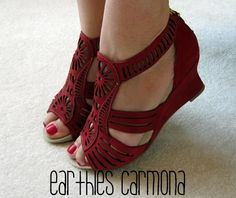 Earthies carmona - great for high arches and wide feet
