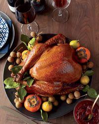 Soy-Sauce-and-Honey-Glazed Turkey Recipe on Food & Wine