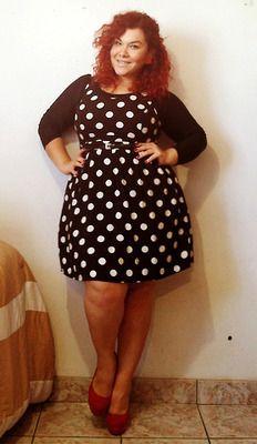 Dots. I want that dress!