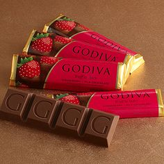 One of my favorite places to go to get chocolate is Godiva in the Town Center Mall or North Point Mall!