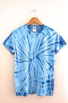 Sky Blue Tie-Dye Unisex Tee