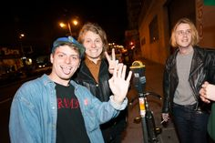 Mac DeMarco, Ty Segall, Christopher Owens.