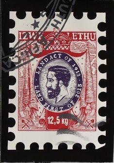 Minenkulu Ngoyi Title: 'Izwelethu I' Medium: Silkscreen on paper Size: 70 X Year: 2019