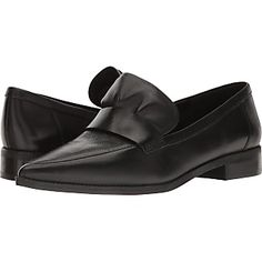 a62c25863f5 Nine West Strong Black Leather Shoes Black Leather Shoes