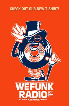 WEFUNK's new t-shirt now on sale!
