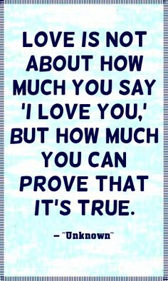 Love quote I love you