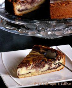 Cheesecake marbré - La Fabrique à Délices