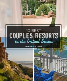 10 Best Couples Resorts in the United States - If you're looking for a romantic getaway that includes a stay at a spectacular resort, you're s - Best Vacations For Couples, Couples Resorts, Vacations In The Us, Couples Vacation, Getaways For Couples, Dream Vacations, Romantic Resorts, Romantic Weekend Getaways, Romantic Vacations