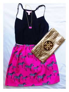 Kendra Scott + Zebras + Tory Burch