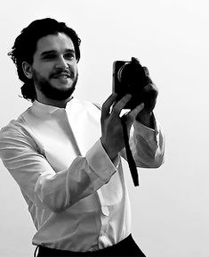 """"""" It's a day after he appeared on Jimmy Kimmel Live and participated in a running Kimmel gag where stars record readings of hate tweets. """"They're pretty funny,"""" says Harington later in the afternoon,..."""