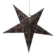 Persia Black Star lamps http://www.29june.com/index.php/paper-stars.html