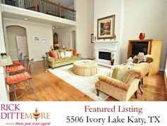 Homes for Sale Katy, TX. Stunning Perry Home in Cinco Ranch. Call 281-395-1234 to schedule your tour! (sold)