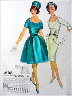 Jackie's sense of fashion became a staple for dress patterns.