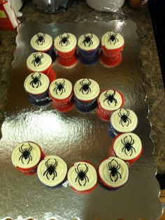 #spiderman Party city spider rings.