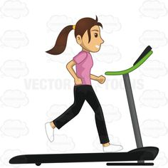 Woman Running On A Treadmill #activity #discipline #exercise #female #fitness #gym #jog #jogging #lesson #lifestyle #movement #pursuit #run #running #task #test #training #treadmill #walk #walking #woman #workingout #workout