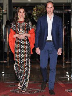 キャサリン妃がインド・ブータン訪問でかけた衣装代、How much? - Yahoo! BEAUTY