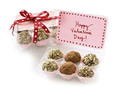 Homemade Truffles for Valentine's Day with crafty egg carton box!