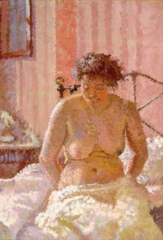 Harold Gilman, Nude in an Interior