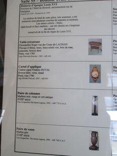 Musée de Carnavalet, Paris IV-  Salle 55: boudoir Louis XVI. (Salon Ovale)