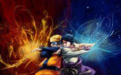 Anime~Naruto and Sasuke
