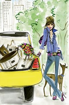 [Art] People who say money can't buy you happiness just don't know where to shop. (Tara Palmer-Tomkinson)
