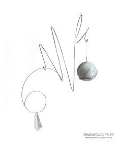 Artwork n.5 - Size: 30x20 cm - Materials: Stainless steel, marble and glass. –> SOLD   Opera n°5 - Dimensioni: 30x20 cm - Materiali: Acciaio inossidabile, marmo e vetro. –> VENDUTO   http://www.pendantsculpture.eu