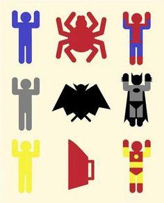 Origen de los superhéroes.