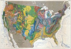 Geologic Map of the United States