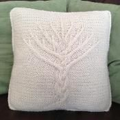 Tree of Life 16 x 16 Pillow Cover - via @Craftsy Pattern $4.95