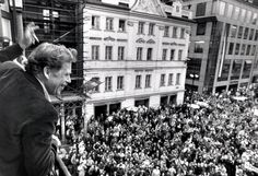 Czech playwright and long-time dissident Václav Havel is elected president of Czechoslovakia on December the final act in a Velvet Revolution that has ousted Communists from power.