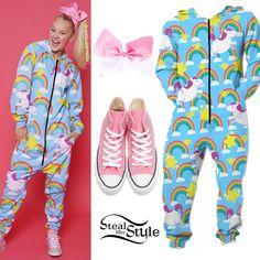 JoJo Siwa Clothes & Outfits | Steal Her Style Jojo Hair Bows, Jojo Bows, Tween Girl Gifts, Tween Girls, Dance Outfits, Girl Outfits, Fashion Outfits, Jojo Siwa Outfits, Birthday Boy Shirts