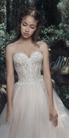 Milva Bridal Wedding Dresses 2017 Diora / http://www.deerpearlflowers.com/milva-wedding-dresses/7/