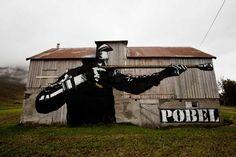 Street Art by Pobel  (1)