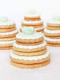 More like wedding cookies, but so cute! sabores da gula